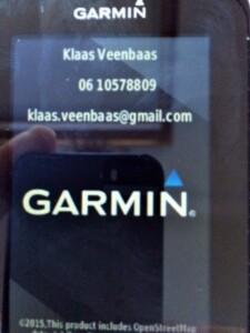 Garmin Edge startup
